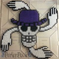 Nico Robin's Jolly Roger by PerlerPixie