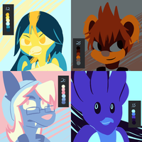 Palette Challenge - Armonia Requests by SoIrock