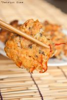 Salmon pakora 1 by patchow