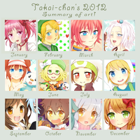 +.2012 passed, was so fast!.+ by hyuugalanna