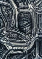 Biomechanical Wall 01 by artlmntl
