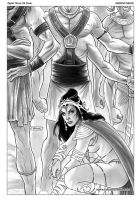 Dejah Thoris 25 Cover by FabianoNeves
