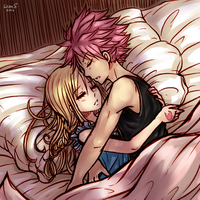 Night [NaLu] by LeonS-7
