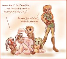 Star Wars: Happy Easter, Mara by GoblinQueeen