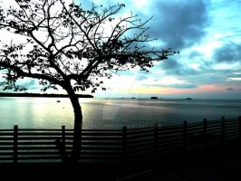 Sunset on Contadora by xdeeplake