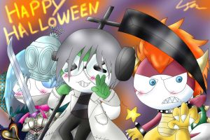 Happy Halloween 2012 by G66D66