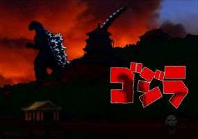 Godzilla Wallpaper by WoGzilla