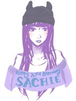 WHOOP HAPPY BIRTHDAY SACHIE- by otakujeanette