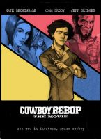 Cowboy Bebop Movie Poster by b2rianLS
