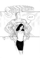 Lois and Clark by PaulRenaud