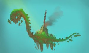 dinosaur_island by phongshader