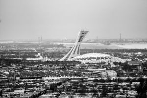 Montreal Olympic Stadium by K-liss