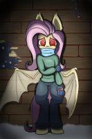 Rare sighting of the elusive Flutterbat by Heir-of-Rick
