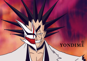 Kenpachi Zaraki Hollow Mask by Yondime