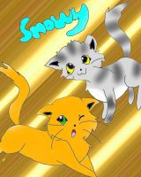 Warriors Cats for Sno-wy by Eeveelutionluver12