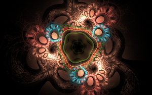 dark pattern with circles by Andrea1981G