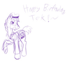 Happy Birthday, Tek! by Puppys