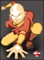 Avatar - Aang- Colored by dmc-br