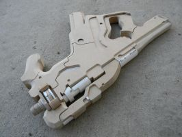 Mass Effect 3 M-25 Hornet Sub Machine Gun WIP by zanderwitaz