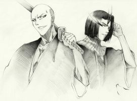 Ikkaku to Yumichika by madaboutvampires