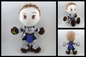 Alistair - DA2 Warden armor by eitanya