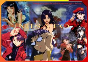 Misato Wallpaper by Jaxene