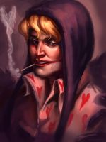 Corazon Sketch by overlordofthepies
