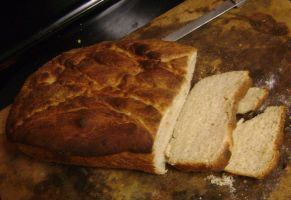 Slow Rise White Bread by Genflag