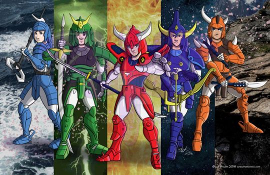 Ronin warriors on toonami fans unite deviantart - Ronin warriors warlords ...