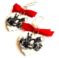 Mad Tea Party Earrings by FatallyFeminine