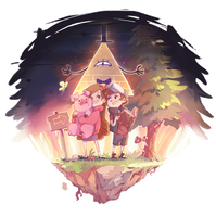 Gravity falls by Karadavre