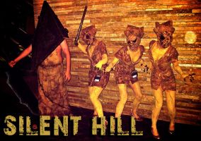 Silent Hill group ACEN 2011 by GrumpyCosplay