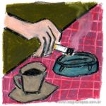 Coffee and Cigarettes by Wagner-Lopes