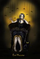 Evy Hallow-Spirit of Halloween. by eitherangel