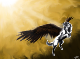 White Angel - Speedpaint by WolfAngelStar