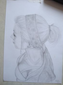 SKETCHY!  A3 graphite #drawing by NoBODYENGLAND