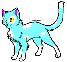 cloud cat adoptable by larkawolf2009
