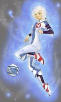 Tia from Galactik Football by Flei
