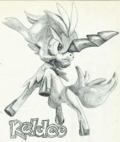 Keldeo (Pokemon) by mor4674j