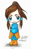 Chibi Korra by Lucia-95RduS