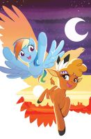 My Little Pony: Friends Forever #31 Cover by TonyFleecs