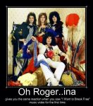 Oh Roger..ina by hunterqueenie03