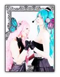 Magnet : Miku x Luka by LolaInProgress