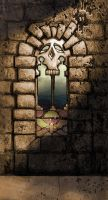 Skull Window by Rusty001