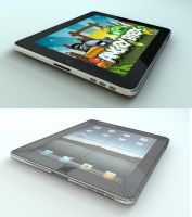 iPad by Tom-3D