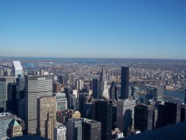 top of New York by pmiccich