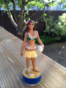 Hula Doll Repaint #1 by ChesyreFrog