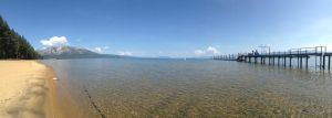 Panoramic of Lake Tahoe by Joshua-adam
