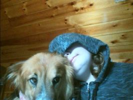 Me and My Dog by Sh4meless