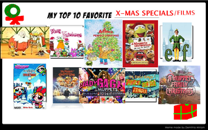 My Top 10 favorite X-mas Specials: Dcatpuppet by DCatpuppet